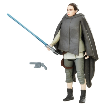 Star Wars - Figurine Rey (Excursion sur l'île) avec Force Link