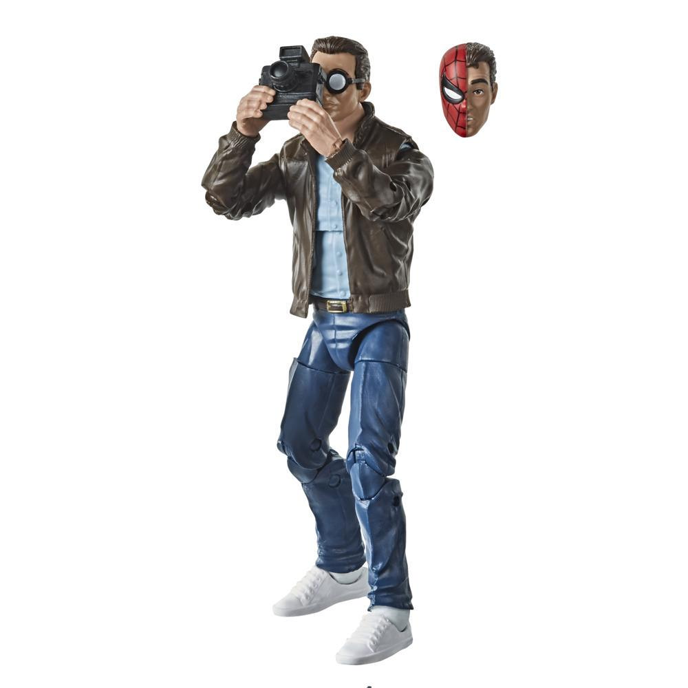 Hasbro Marvel Legends Series Spider-Man, figurine de collection rétro Peter Parker de 15 cm