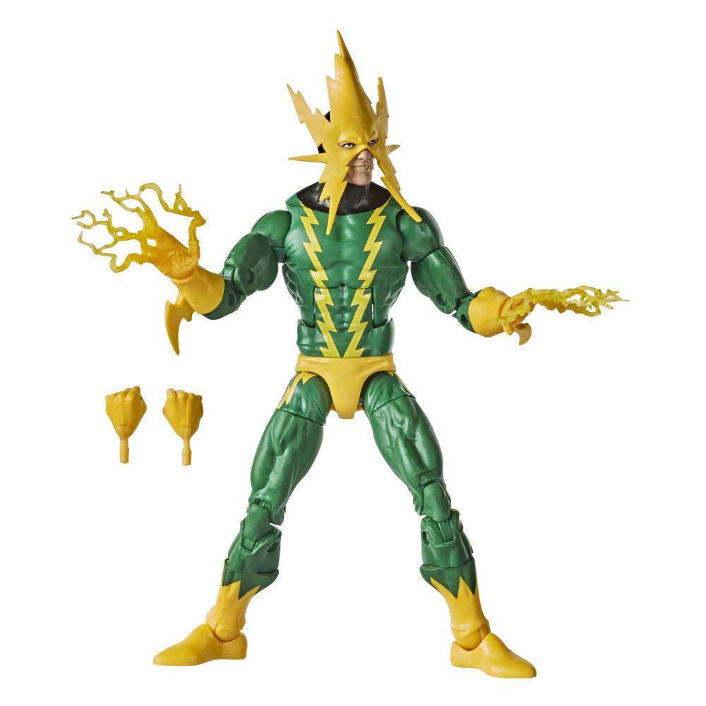 Hasbro Marvel Legends Series Spider-Man, figurine de collection rétro Marvel's Electro de 15 cm