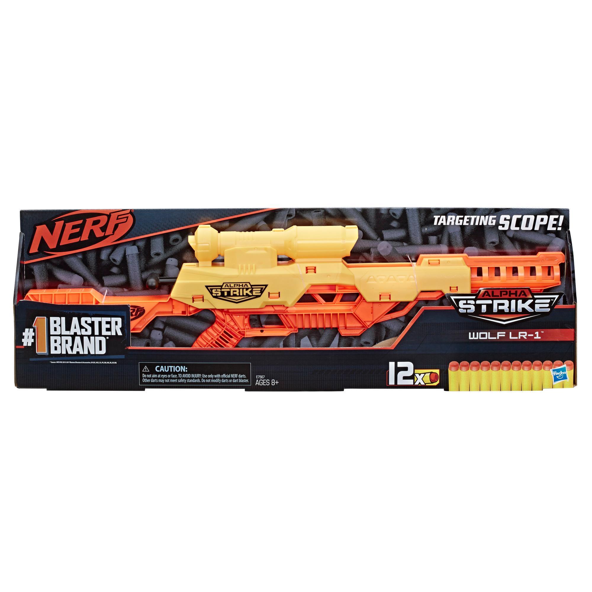 Blaster jouet Wolf LR-1 Nerf Alpha Strike