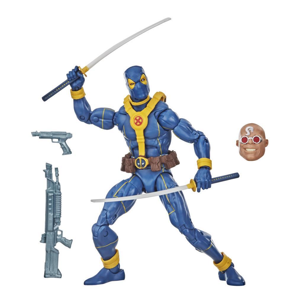 Hasbro Marvel Legends Series, figurine Deadpool de la collection Deadpool de 15 cm, design premium, 3 accessoires