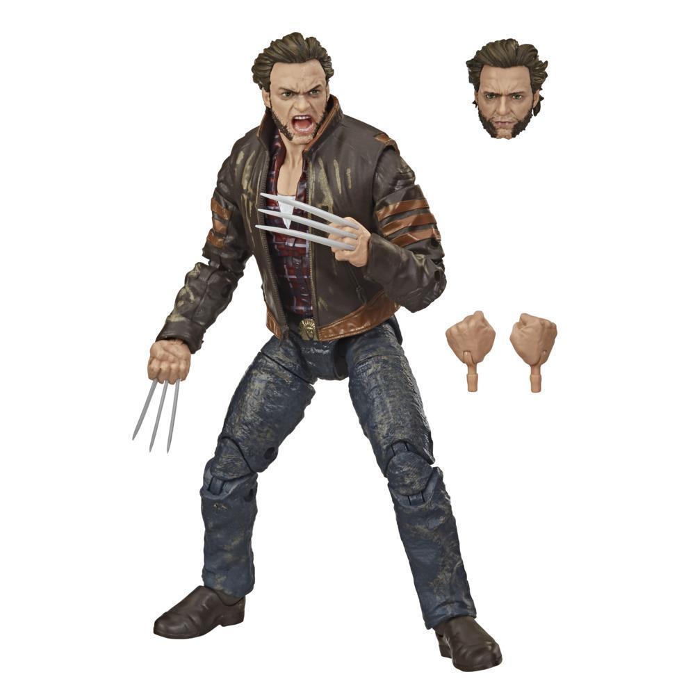 Hasbro Marvel Legends Series X-Men, figurine Wolverine de 15cm à collectionner, avec accessoires, à partir de 14 ans