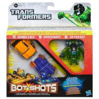 Bot Shots Beast Brawlers pack de 3 fig