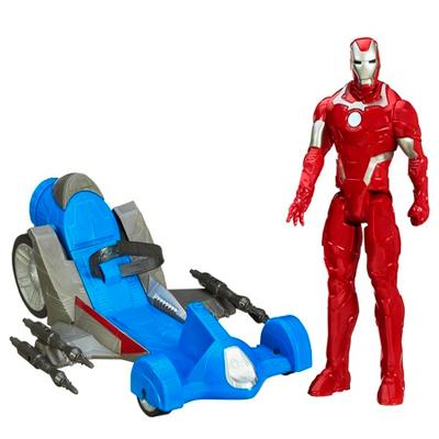 Avengers Figurine de 30cm avec Véhicule