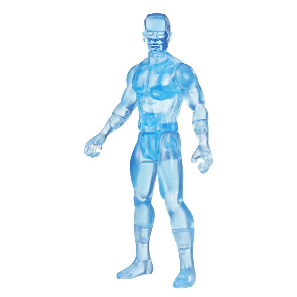 Hasbro Marvel Legends, figurine de collection retro Iceman de 9,5 cm