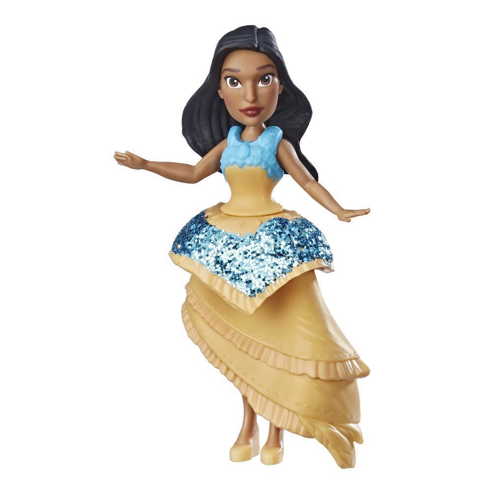 Disney Princess - Poupée Pocahontas avec jupe Pincée royale