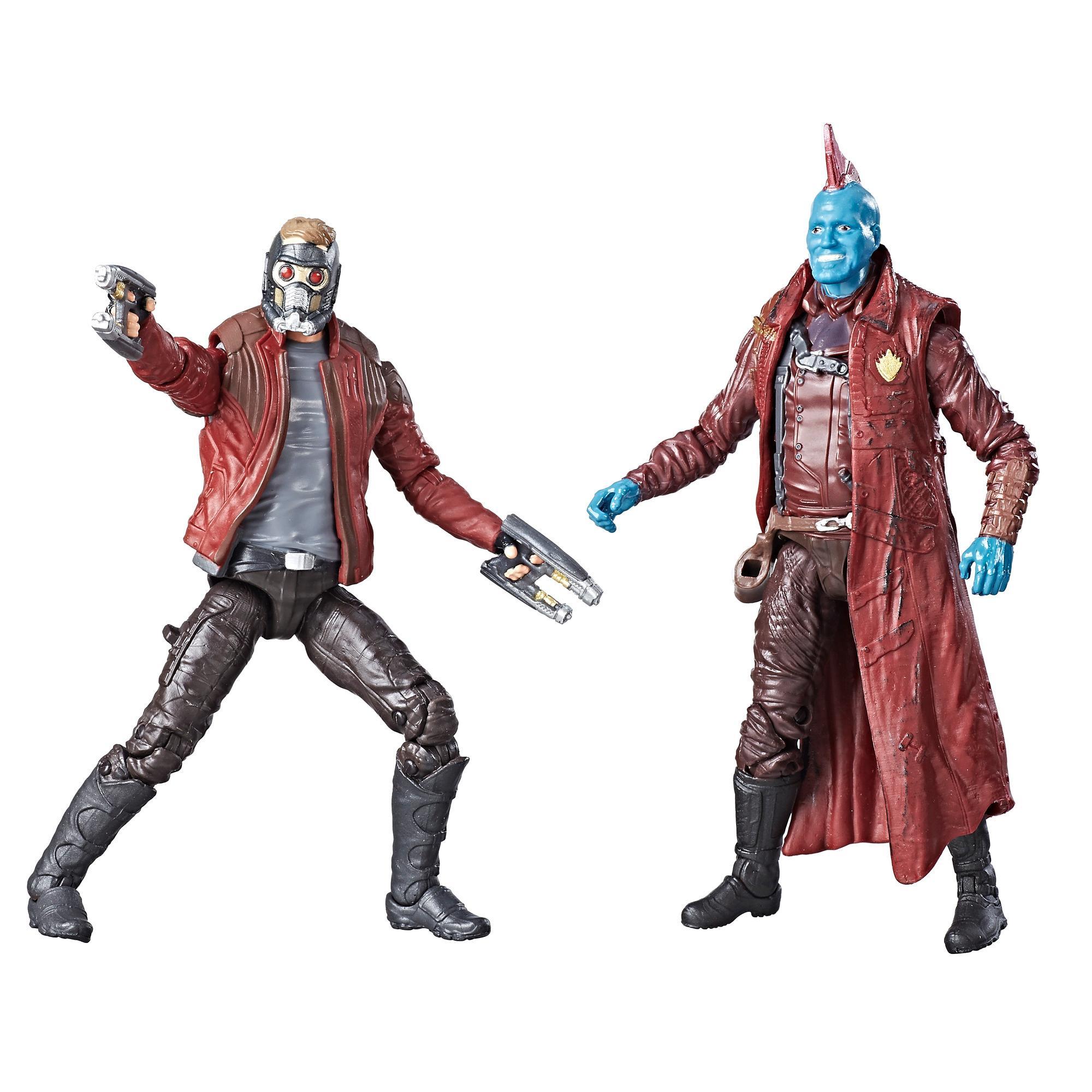 Marvel Legends Guardians of the Galaxy - Duos de figurines Star-Lord et Yondu