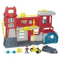 Playskool Heroes Transformers Rescue Bots - Caserne de pompiers de Griffin Rock