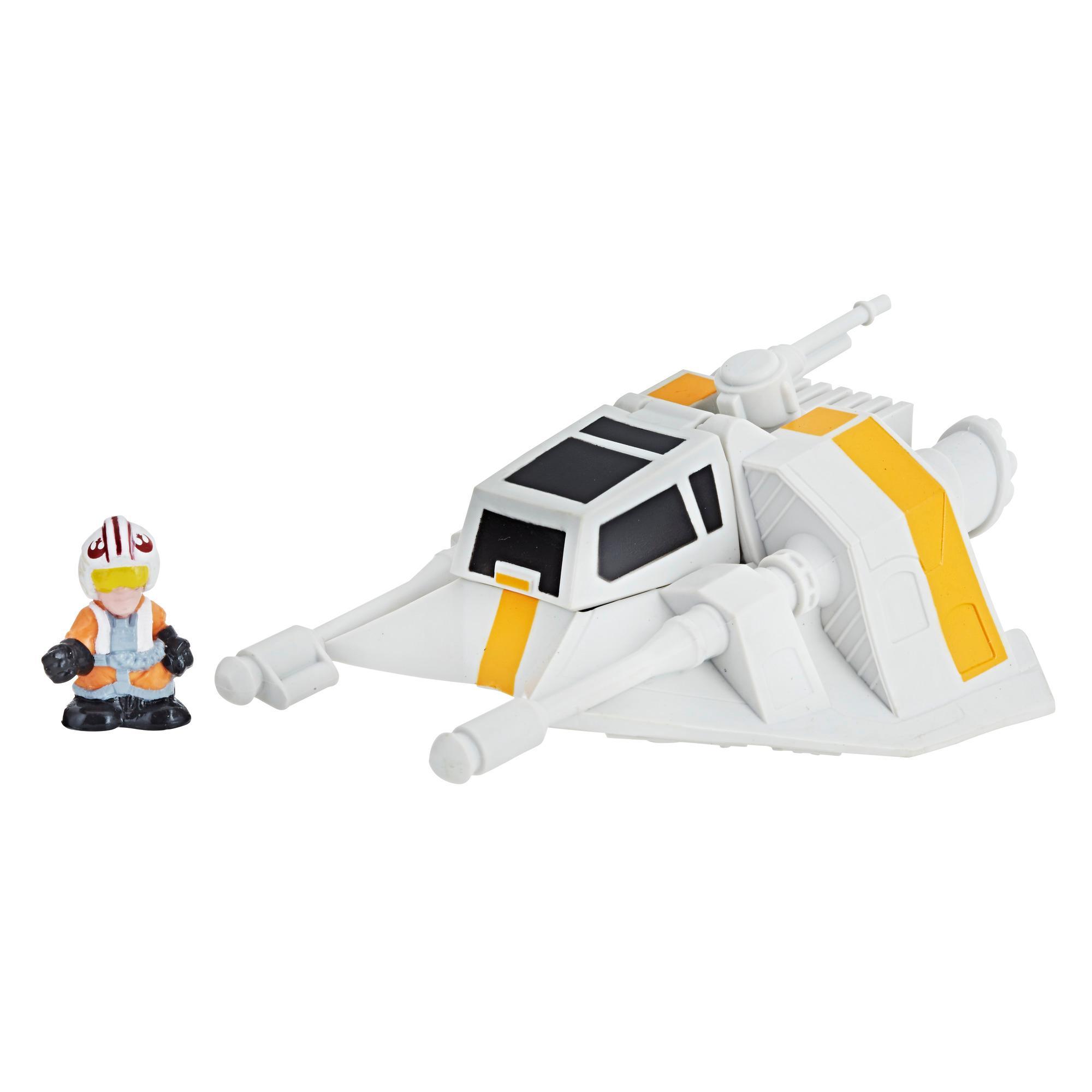 Star Wars Micro Force - Snowspeeder & Luke Skywalker