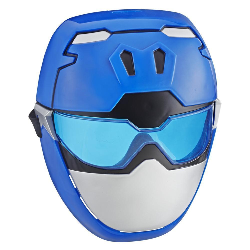 Masque de Ranger bleu pour jeu de rôle de Power Rangers Beast Morphers