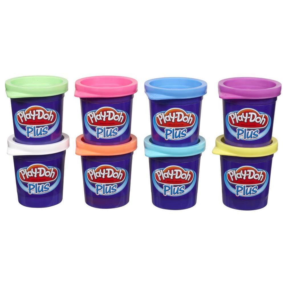 PLAY-DOH Plus - ensemble de 8 pots