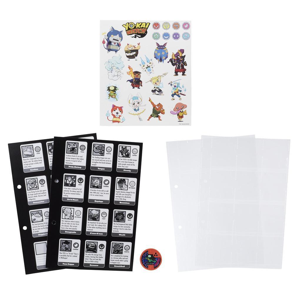 Yo-kai Watch Saison 2 - Pages de série 1 de l'album de collection Médallium des Yo-kai