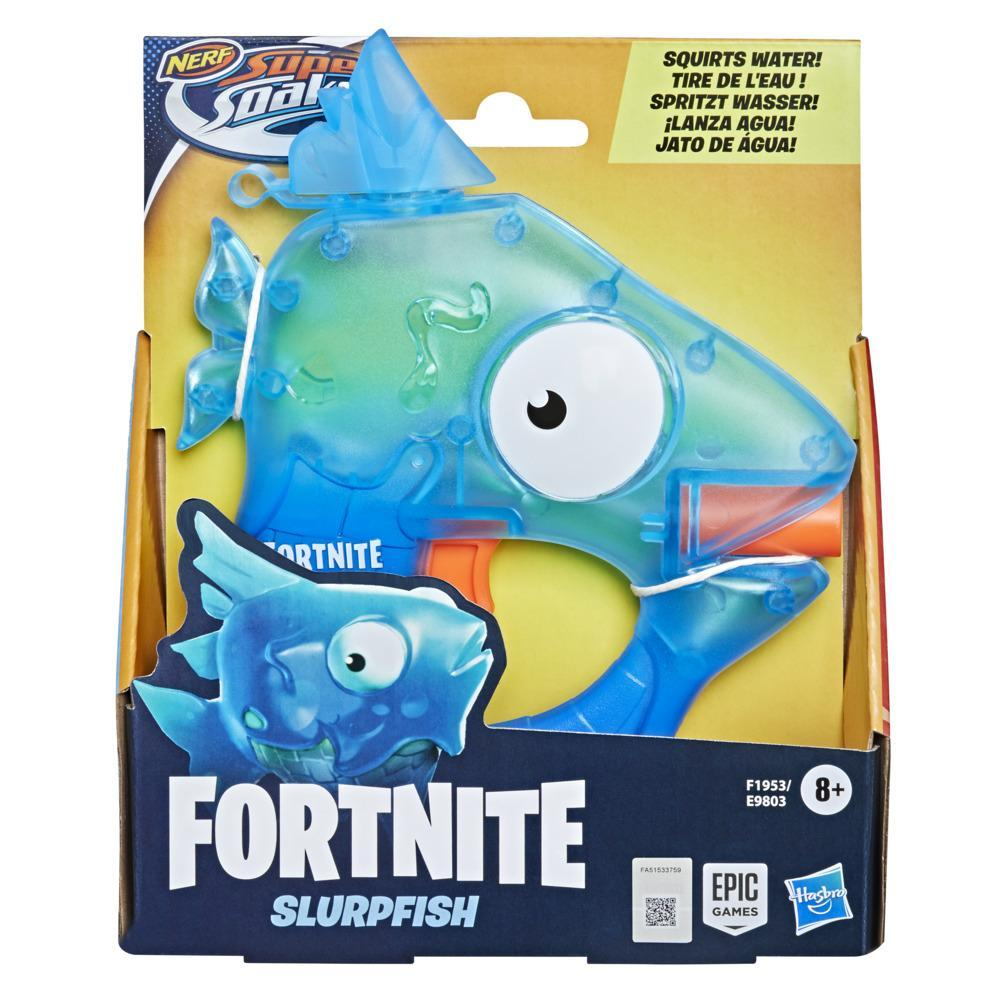 Nerf Super Soaker Fortnite - Blaster à eau Slurpfish