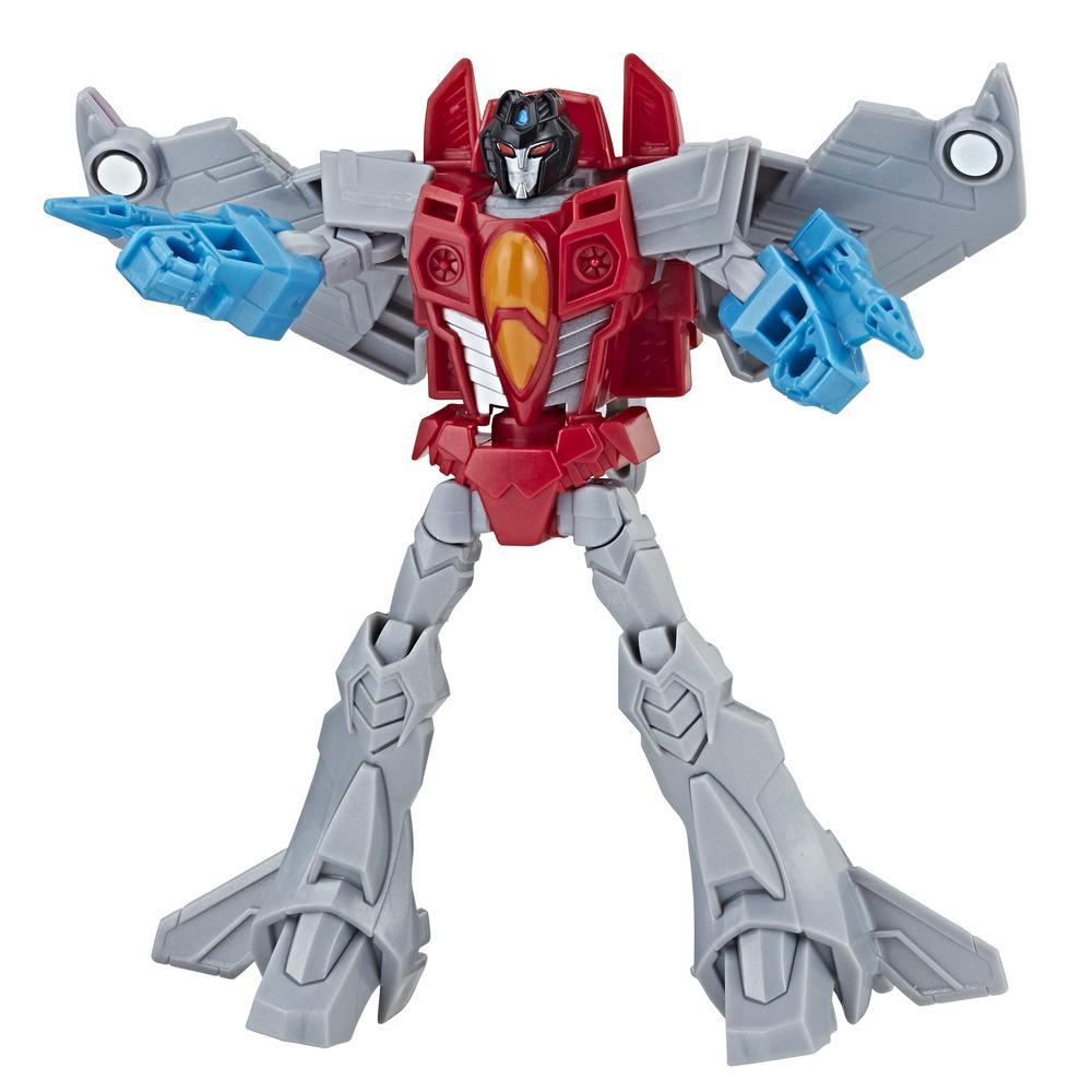 Transformers Cyberverse - Starscream de classe guerrier