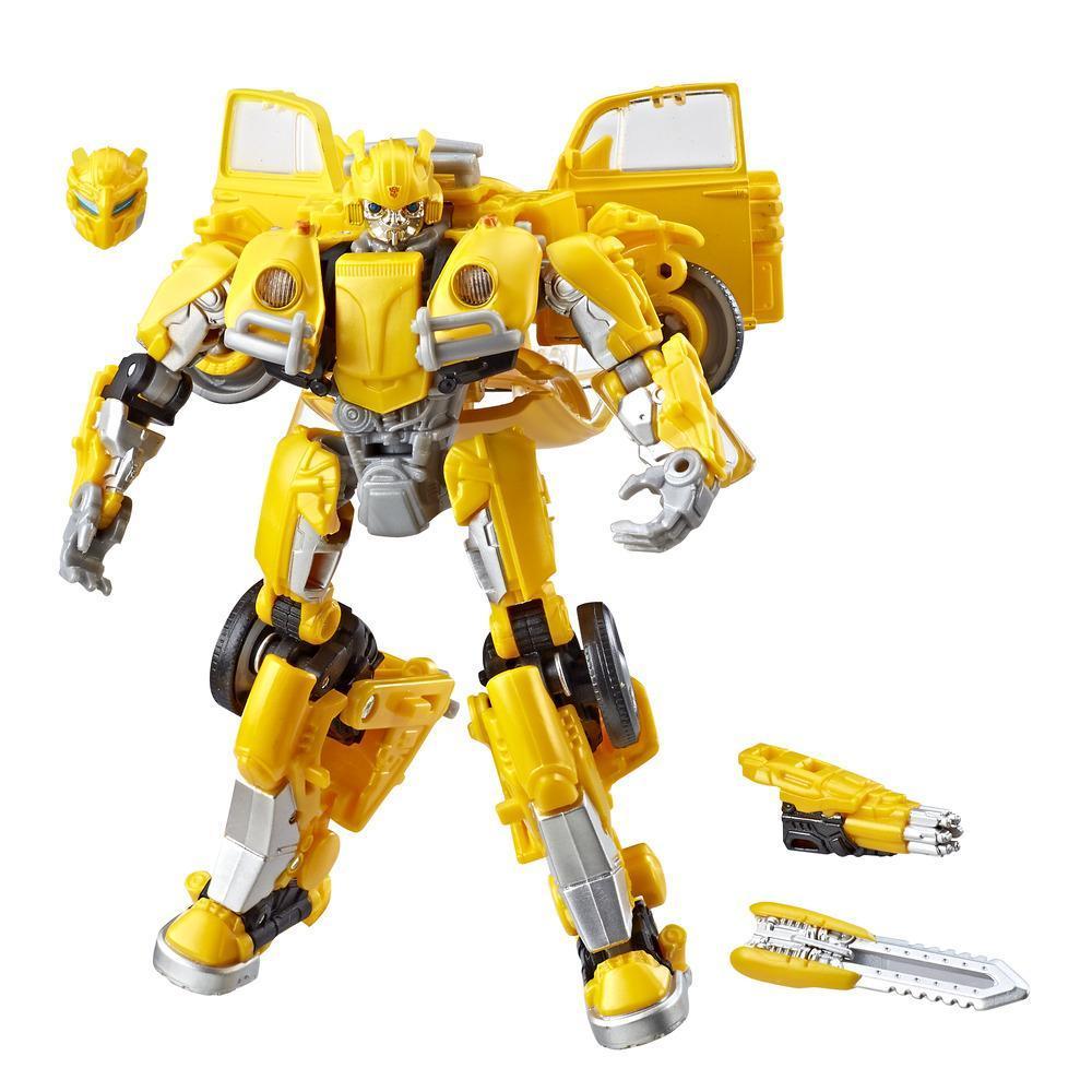 Transformers Transformers: Bumblebee Studio Series 18 - Figurine Bumblebee de classe de luxe
