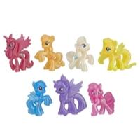 My Little Pony Collection de 7 amies scintillantes - Jouets pour enfants âgés de 3 ans et plus