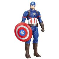 Marvel Titan Hero Series - Figurine électronique Captain America