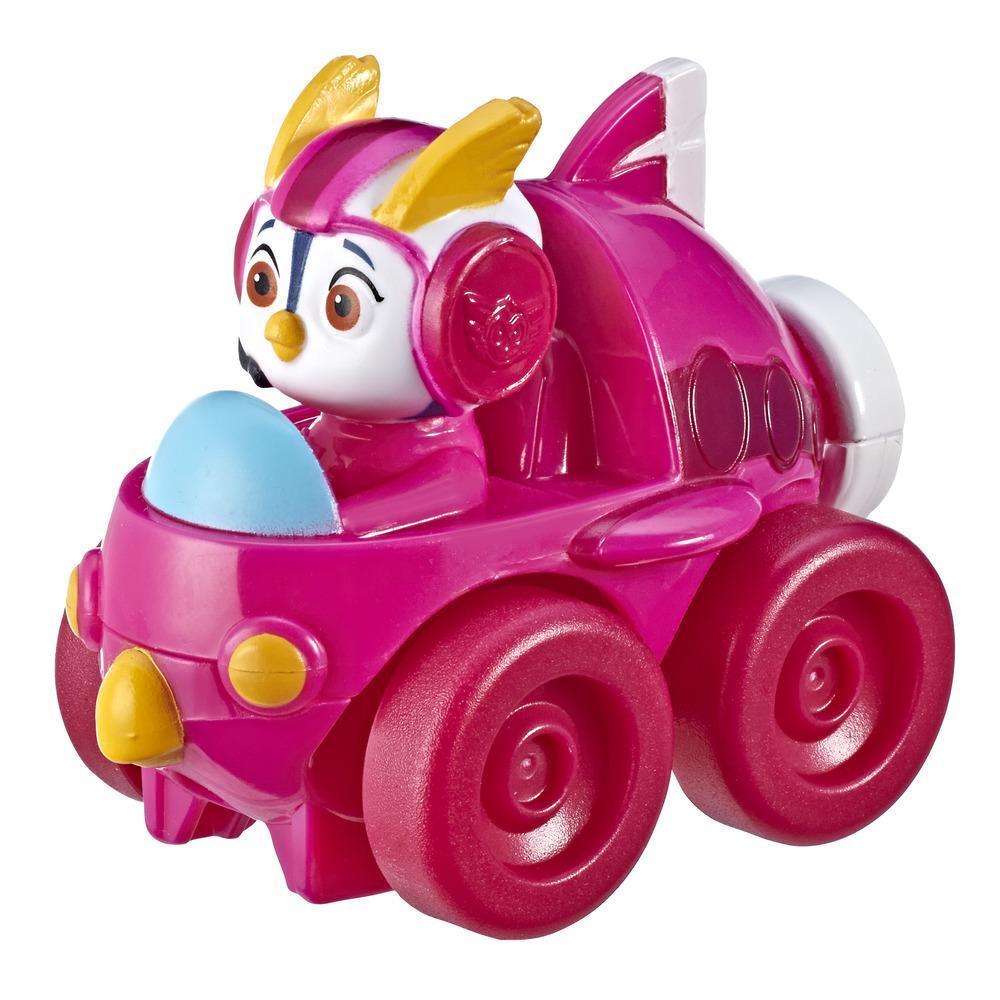 Minifigurine de la pilote Top Wing Penny fixée dans son véhicule