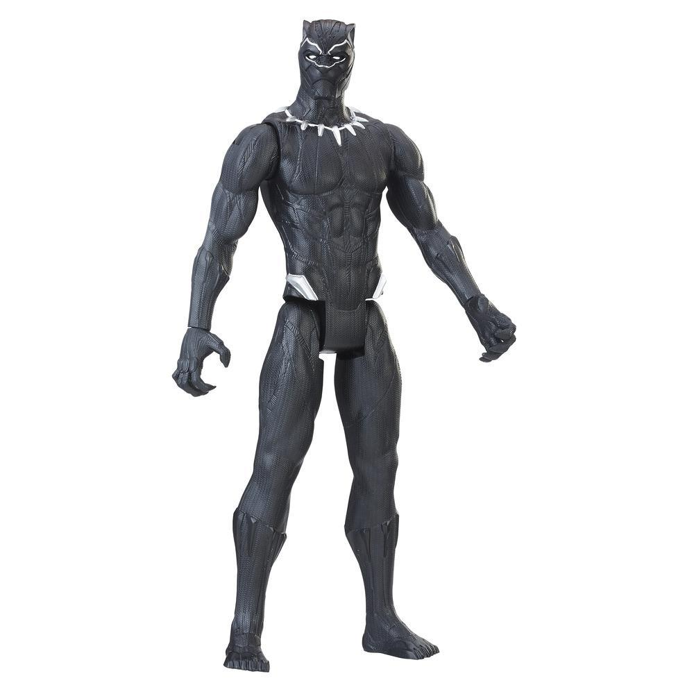 Marvel Black Panther Titan Hero Series - Figurine Black Panther de 30 cm