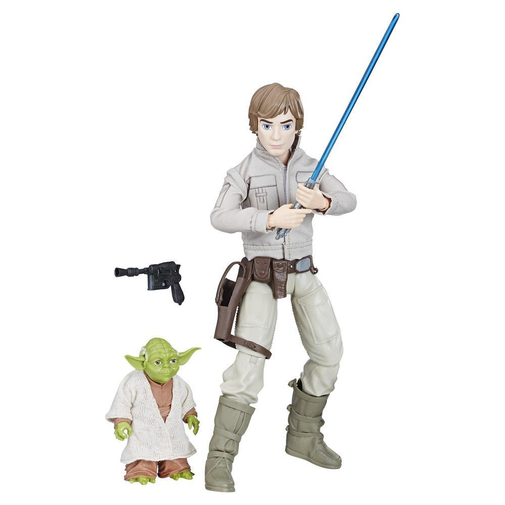 Star Wars Forces of Destiny - Figurines aventurières Luke Skywalker et Yoda