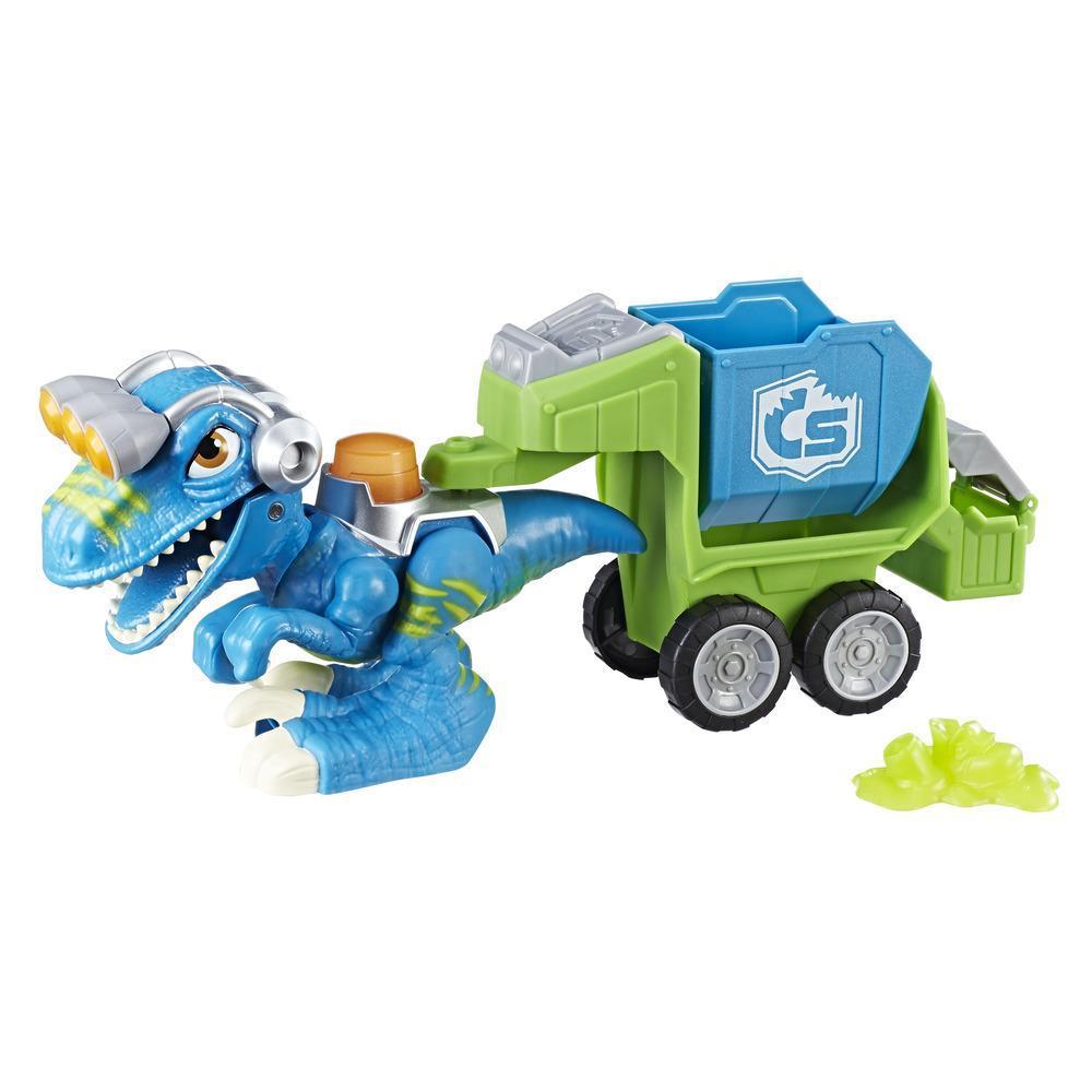 Playskool Heroes Chomp Squad - Raptor Compacteur