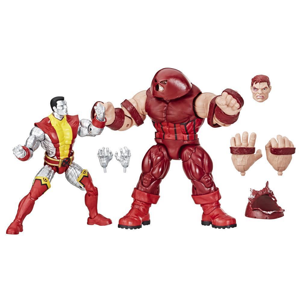 Marvel Comics 80th Anniversary Legends Series - Duo des figurines articulées de 15 cm Colossus et Juggernaut