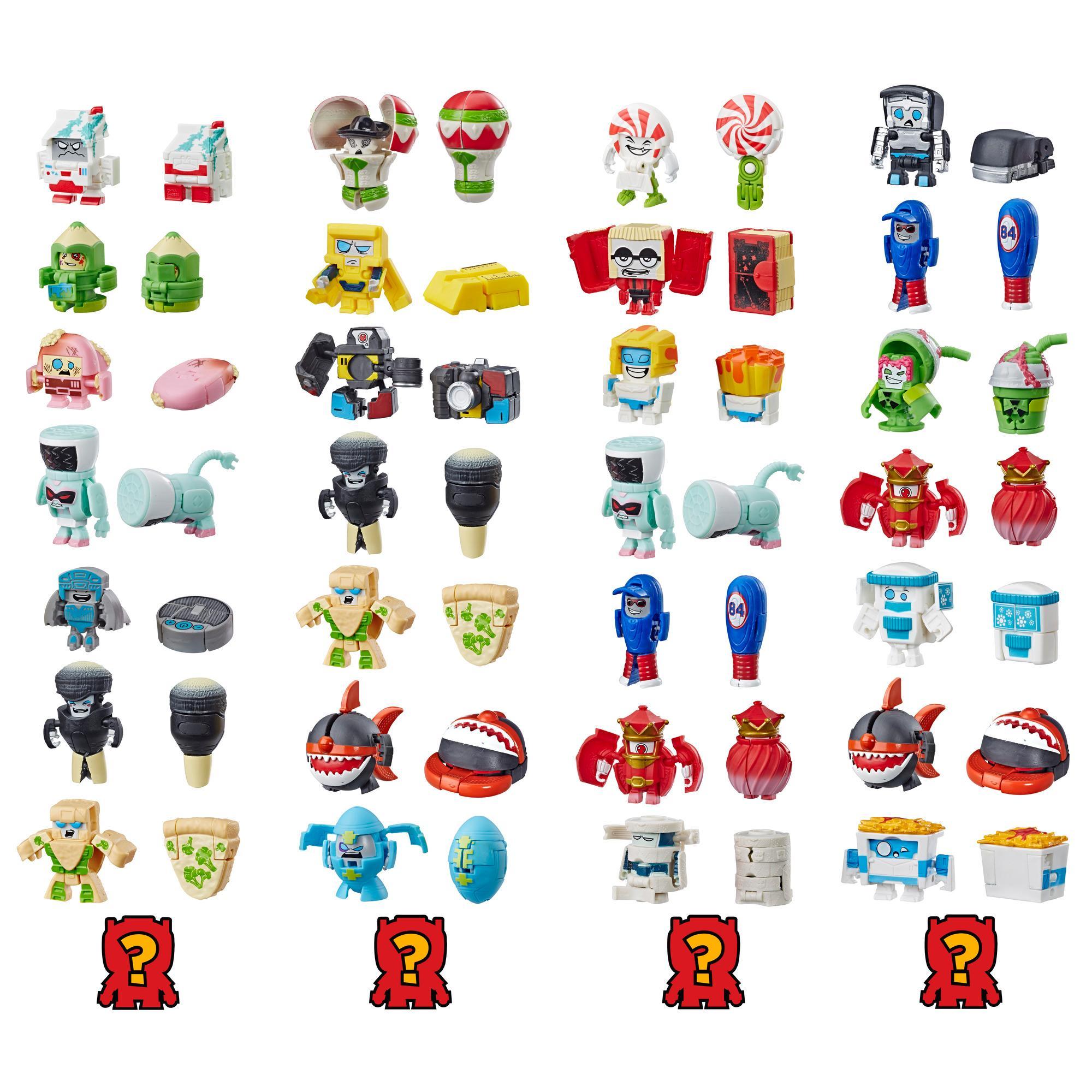 Jouet Transformers BotBots série 2 Ensemble de 8 des Coquets fringants - Figurines mystères 2 en 1 à collectionner! Enfants de 5 ans et plus (le style et les couleurs peuvent varier) de Hasbro