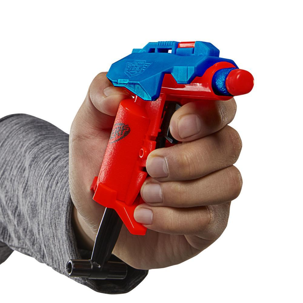 Nerf Alpha Strike, blaster à un coup Slinger SD-1, inclut 2fléchettes en mousse Nerf Elite officielles, facile à utiliser