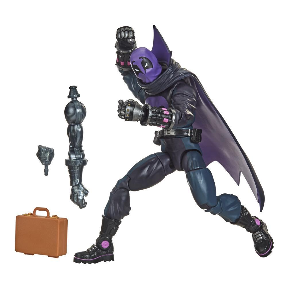 Hasbro Marvel Legends Series, Spider-Man : Dans le Spider-Verse, figurine de collection Marvel's Prowler de 15 cm