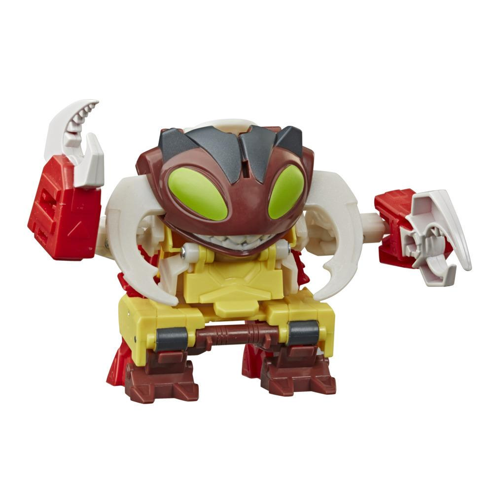 Transformers Bumblebee Cyberverse, figurine Repugnus Action Attackers à conversion 1 étape et attaque Gruesome Chomp