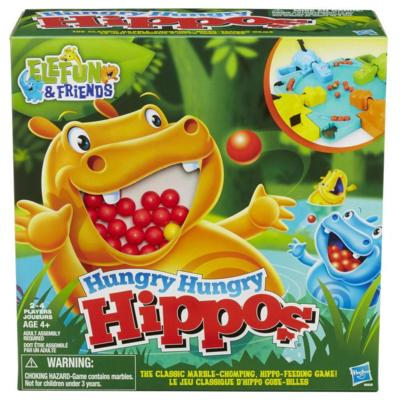 Elefun & Friends - Jeu Hungry Hungry Hippos