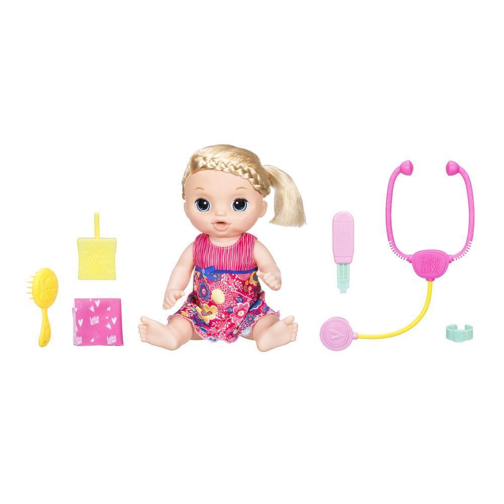 Baby Alive - Bébé petits chagrins (blonde)