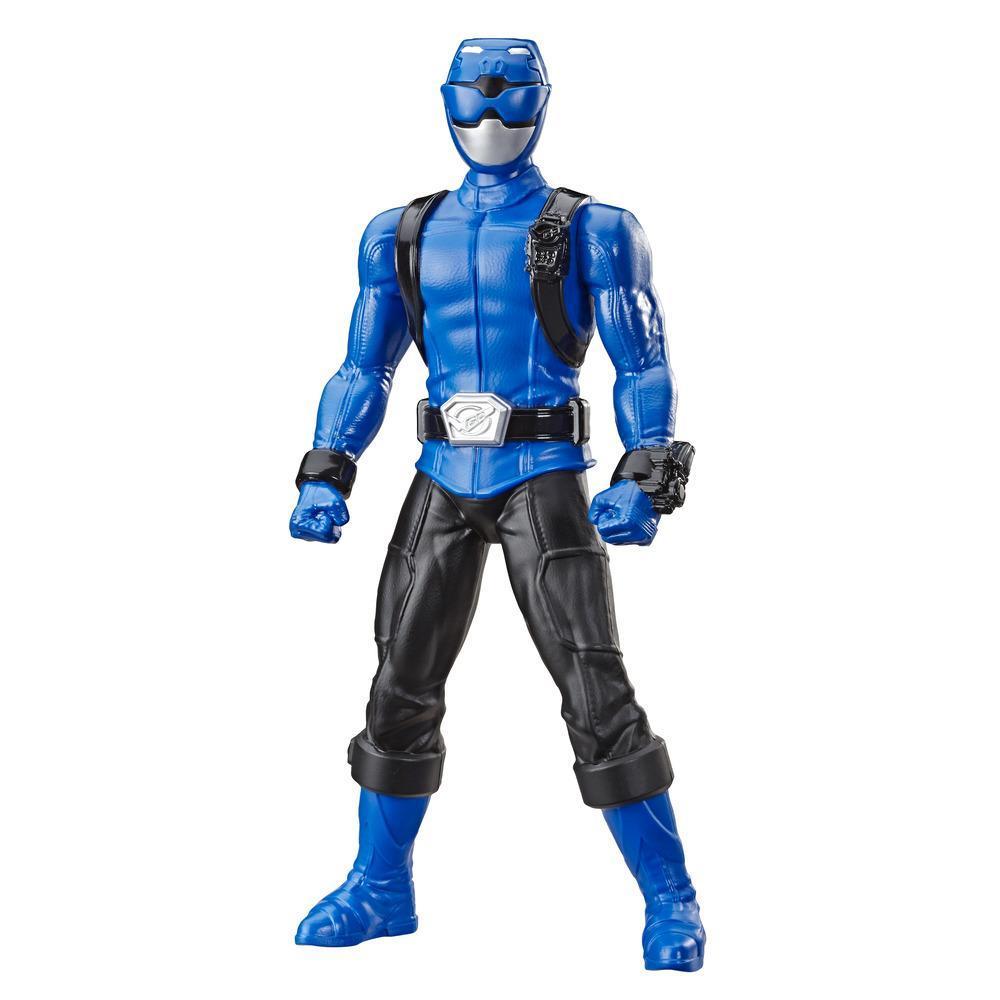 Power Rangers Beast Morphers, Figurine Ranger bleu de 24 cm, pour enfants à partir de 4 ans