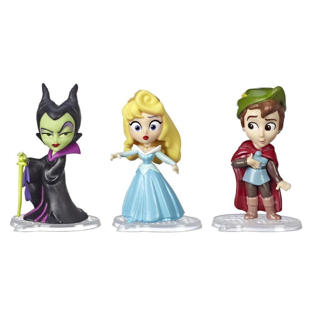 Poupées Disney Princess Comics, Tranches de vie d'Aurore, Longues promenades avec Maléfique et Prince Philippe, 3 jouets et bédé