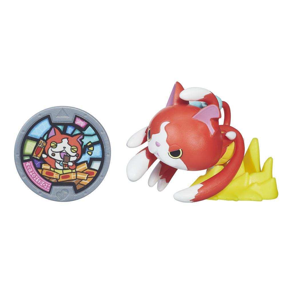 Yokai watch medal moments jibanyan 100 punch yokai for Chambre yo kai watch