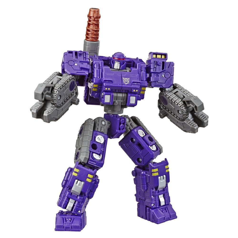 Jouets Transformers Generations War for Cybertron, figurine Weaponizer de luxe WFC-S37 Brunt, gamme Siege, pour adultes et enfants de 8 ans et plus, 14 cm