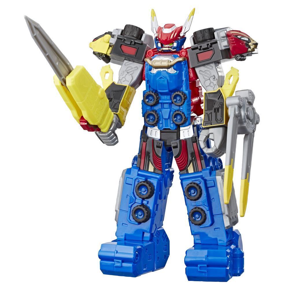 Power Rangers Beast Morphers, figurine jouet de Megazord Power Rangers Beast-X, taille de 25 cm