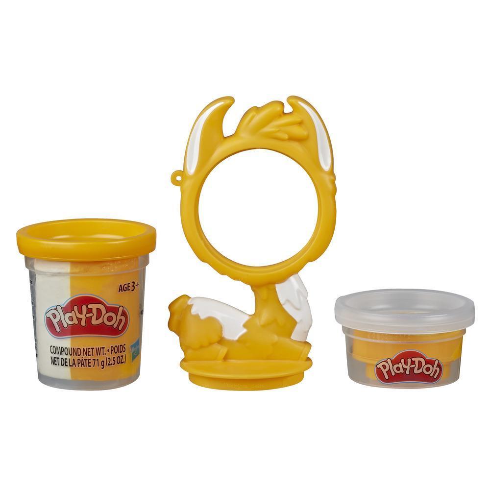 Play-Doh Animal Crew animaux en pots - jouet de pâte à modeler atoxique en forme de poule amusante