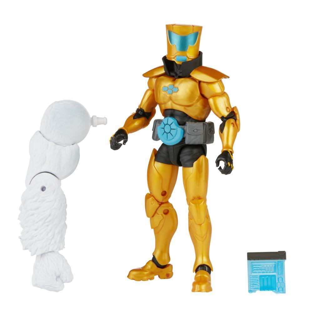 Hasbro Marvel Legends Series, figurine de collection A.I.M. Scientist Supreme de 15 cm, 1 accessoire et 1 pièce Build-a-Figure