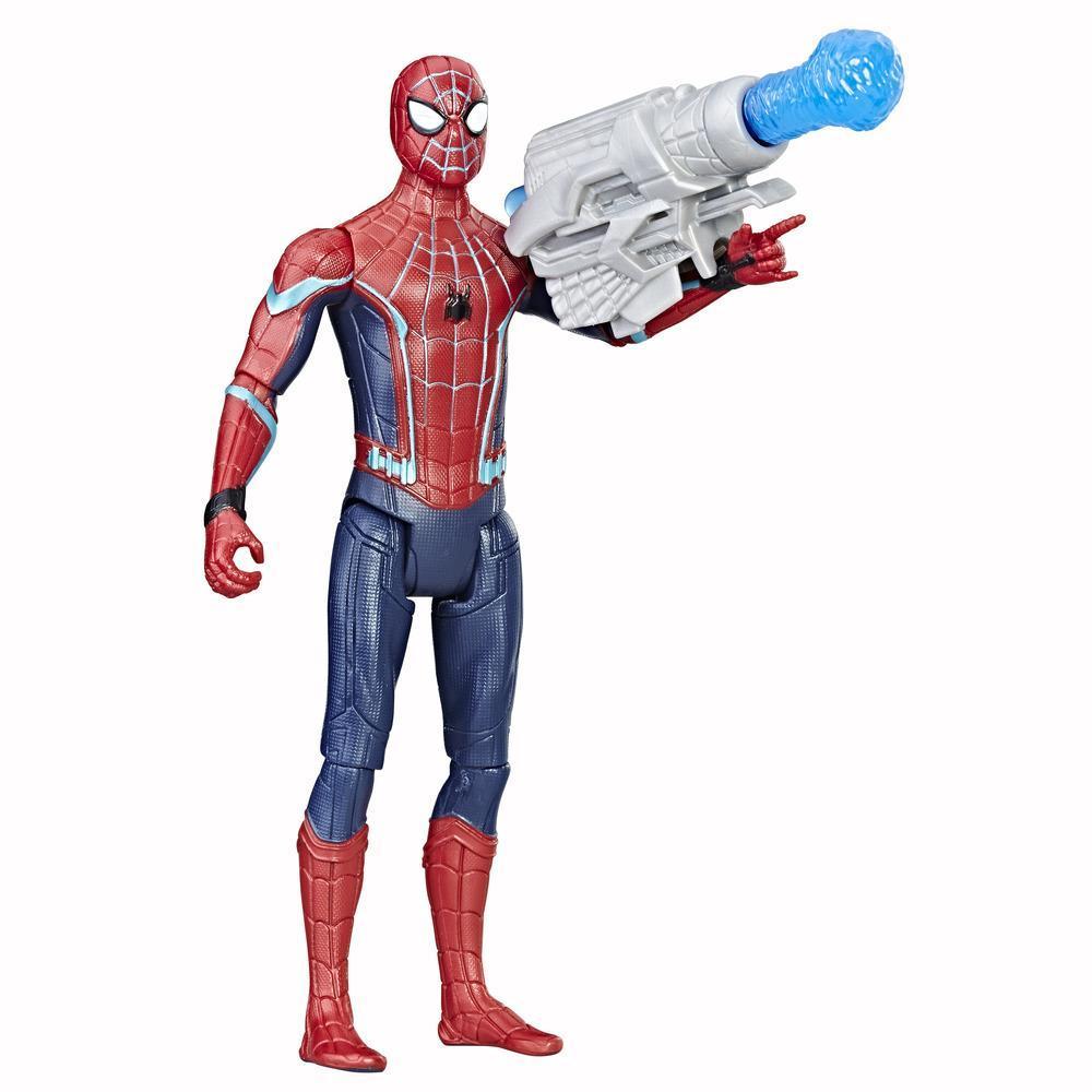 Spider-Man: Les retrouvailles - Figurine Spider-Man (bleu techno) de 15 cm