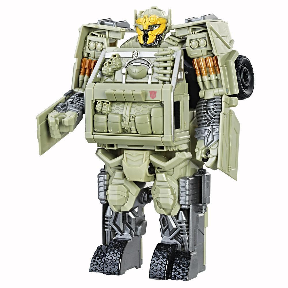 Transformers: The Last Knight - Autobot Hound Turbo Changer Armure de chevalier