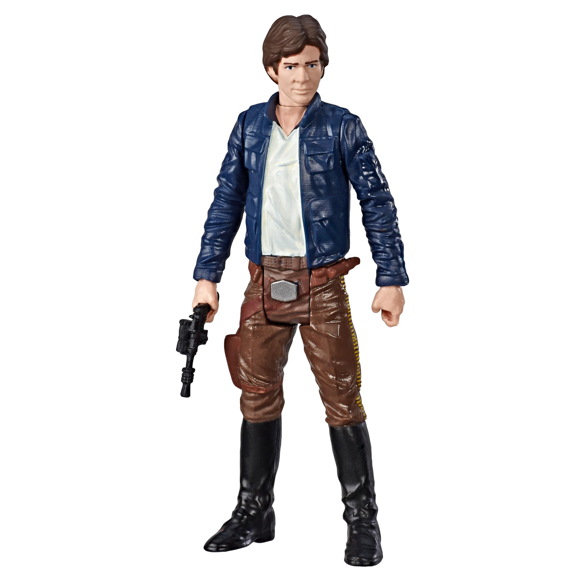 Star Wars Galaxy of Adventures - Figurine Han Solo et mini bande dessinée