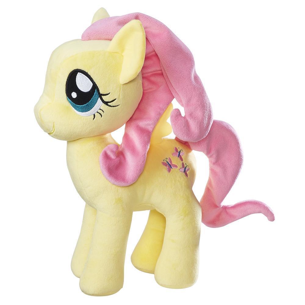 My Little Pony Les amies, c'est magique - Douce peluche Fluttershy