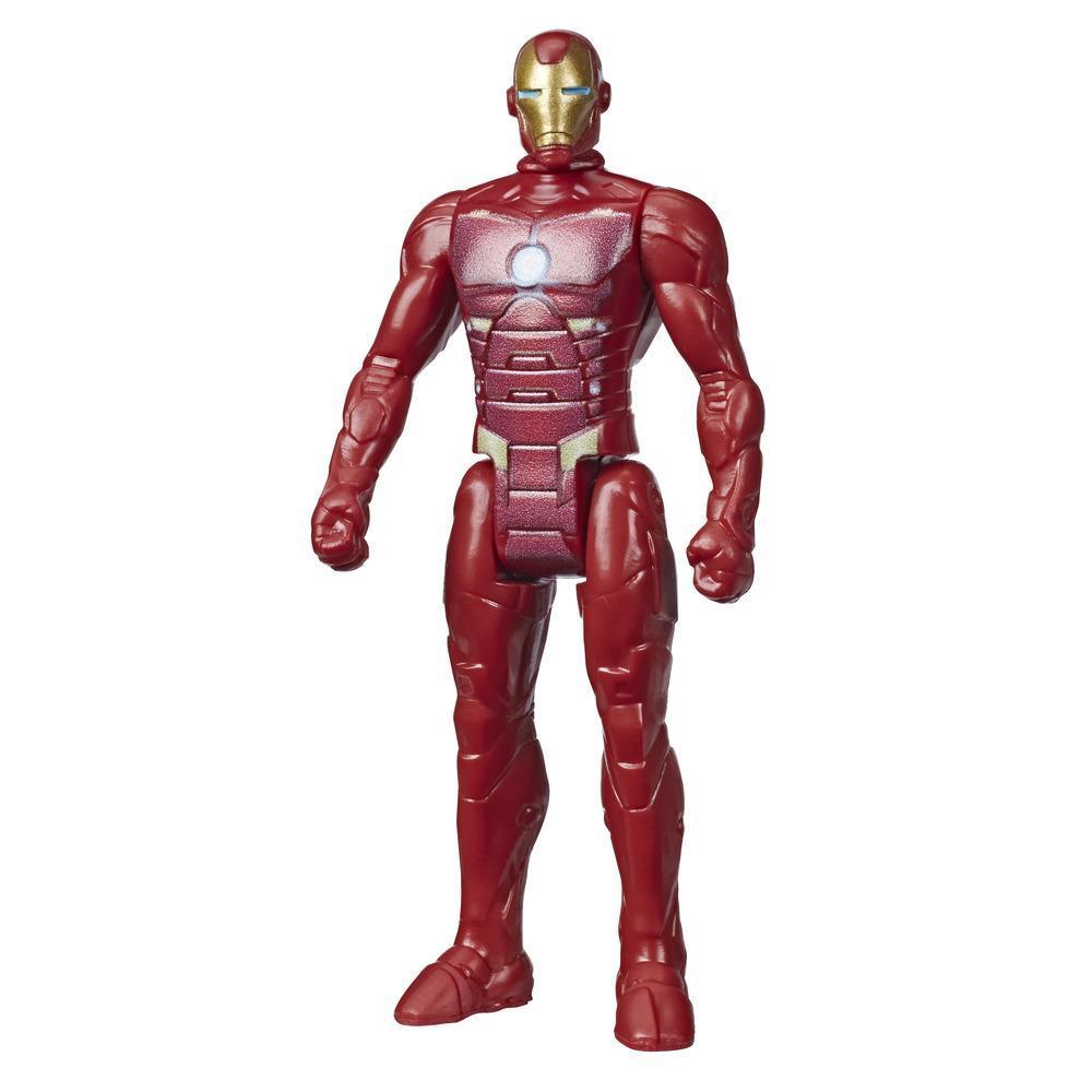 Marvel Avengers - Figurine Iron Man de 9,5 cm inspirée des bandes dessinées classiques, pour enfants à partir de 4 ans