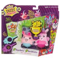 FURREAL FRIENDS DIZZY DANCERS — Emballage de 2 figurines HOPSIBELLA et BERIWINKLE de la Collection rockambolesque