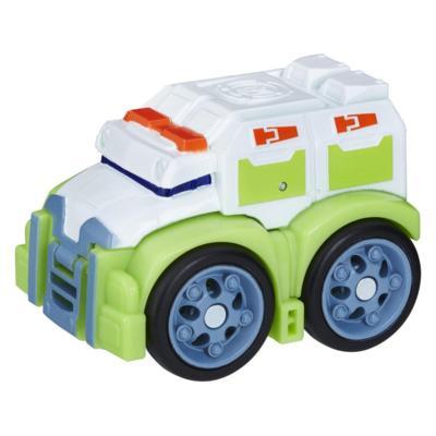 Playskool Heroes Transformers Rescue Bots Flip Racers - Medix le robot médico
