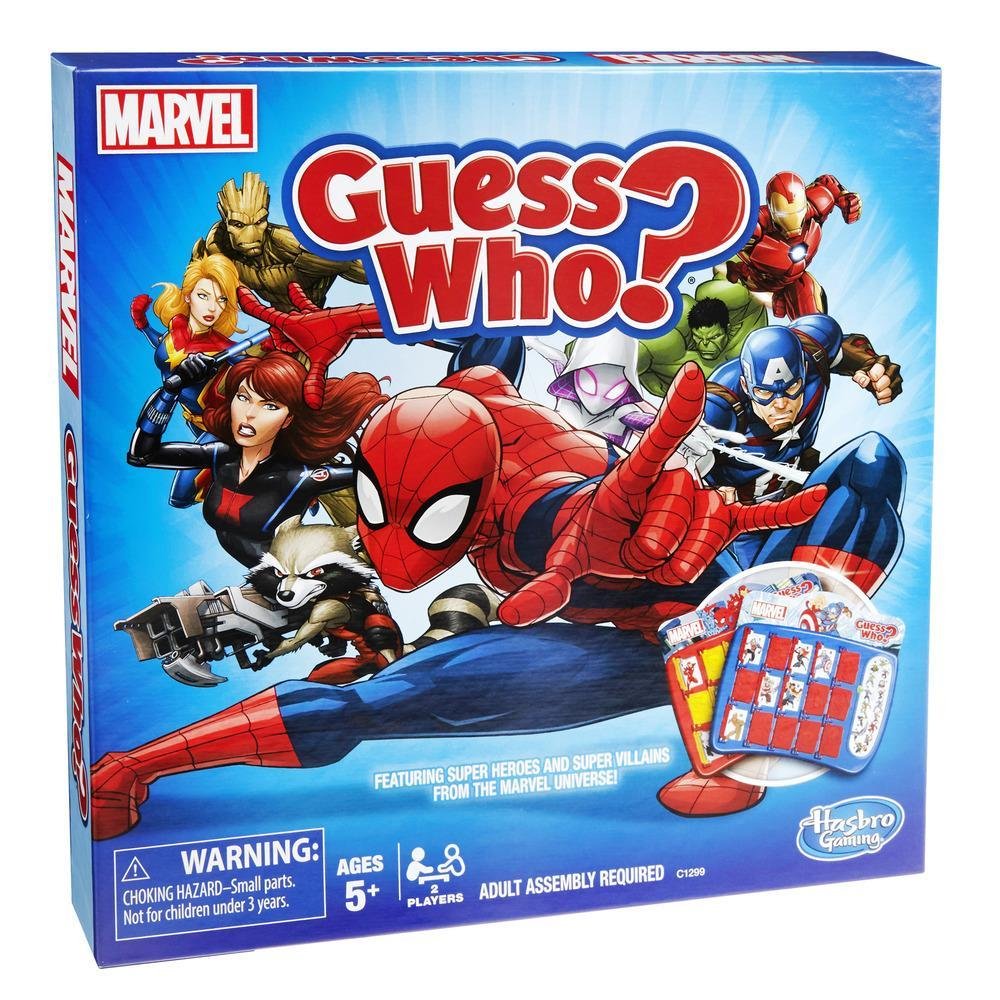 Jeu Guess Who? édition Marvel