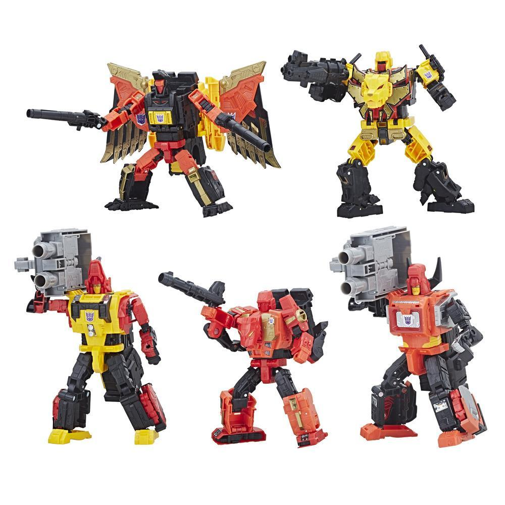 Transformers: Generations Power of the Primes - Predaking de classe Titan