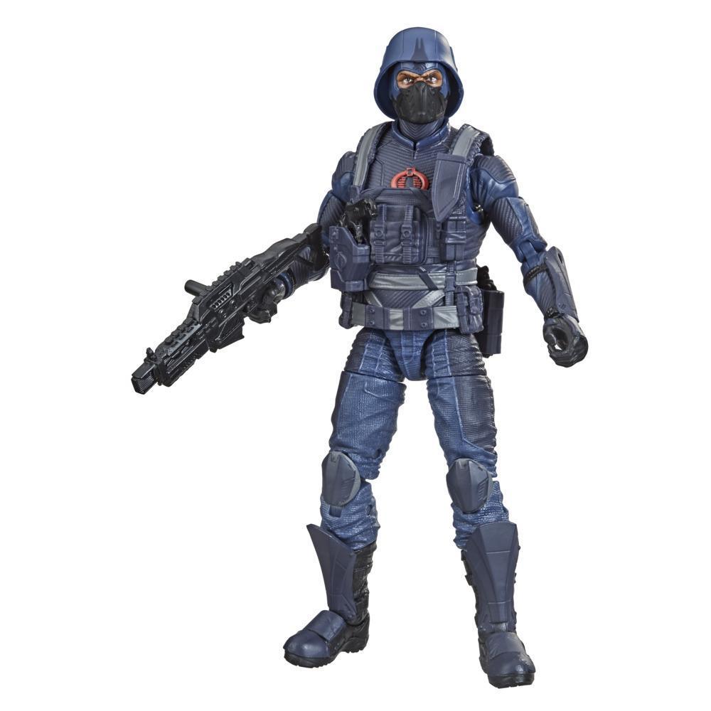 G.I. Joe Classified Series, figurine articulée Cobra Infantry 24 de 15 cm à collectionner avec accessoires et emballage spécial