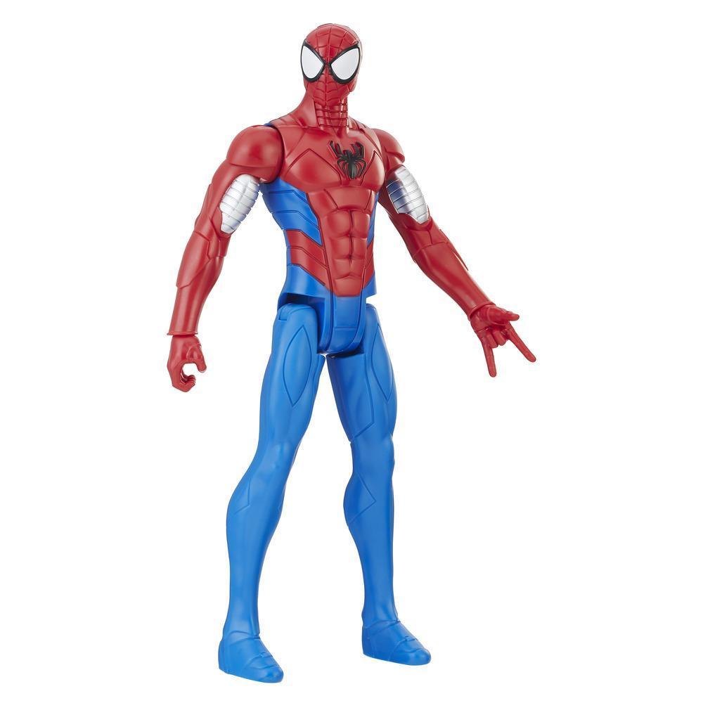 Spider-Man Titan Hero Series Web Warriors: Spider-Man en armure